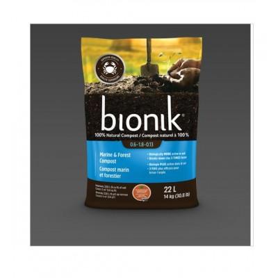 Vermicompost BIOLOGIQUE Bionik Marin & Forestier, 22L