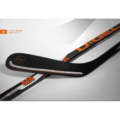Bâton de Dek Hockey D-GEL 622, Adulte DROITIER